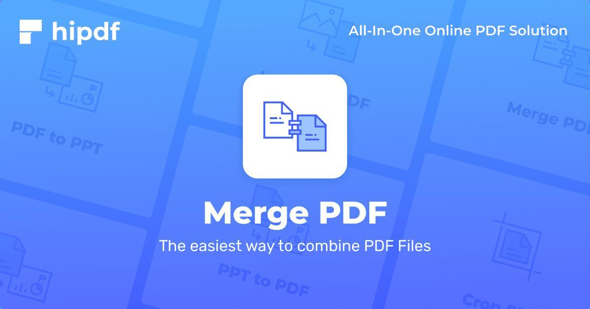 combine pdf pages online