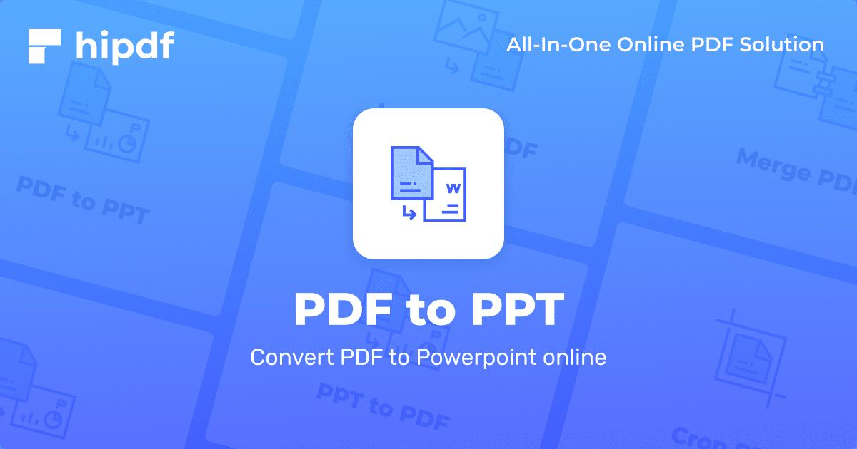 Pdf to ppt converter for android apk download.