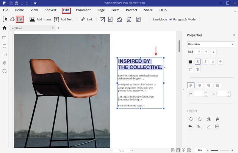ecrire pdf en ligne